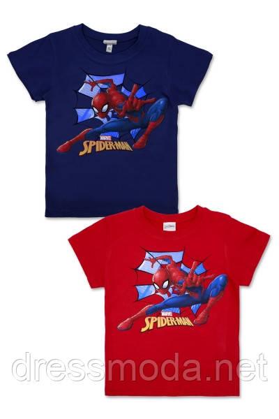 Футболка для мальчиков Spider-man 5-12 лет/110-152 р.р.