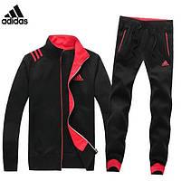 Мужской спортивный костюм Adidas black-red