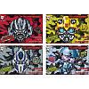 Альбом для рисования Transformers на скобе 12 листов