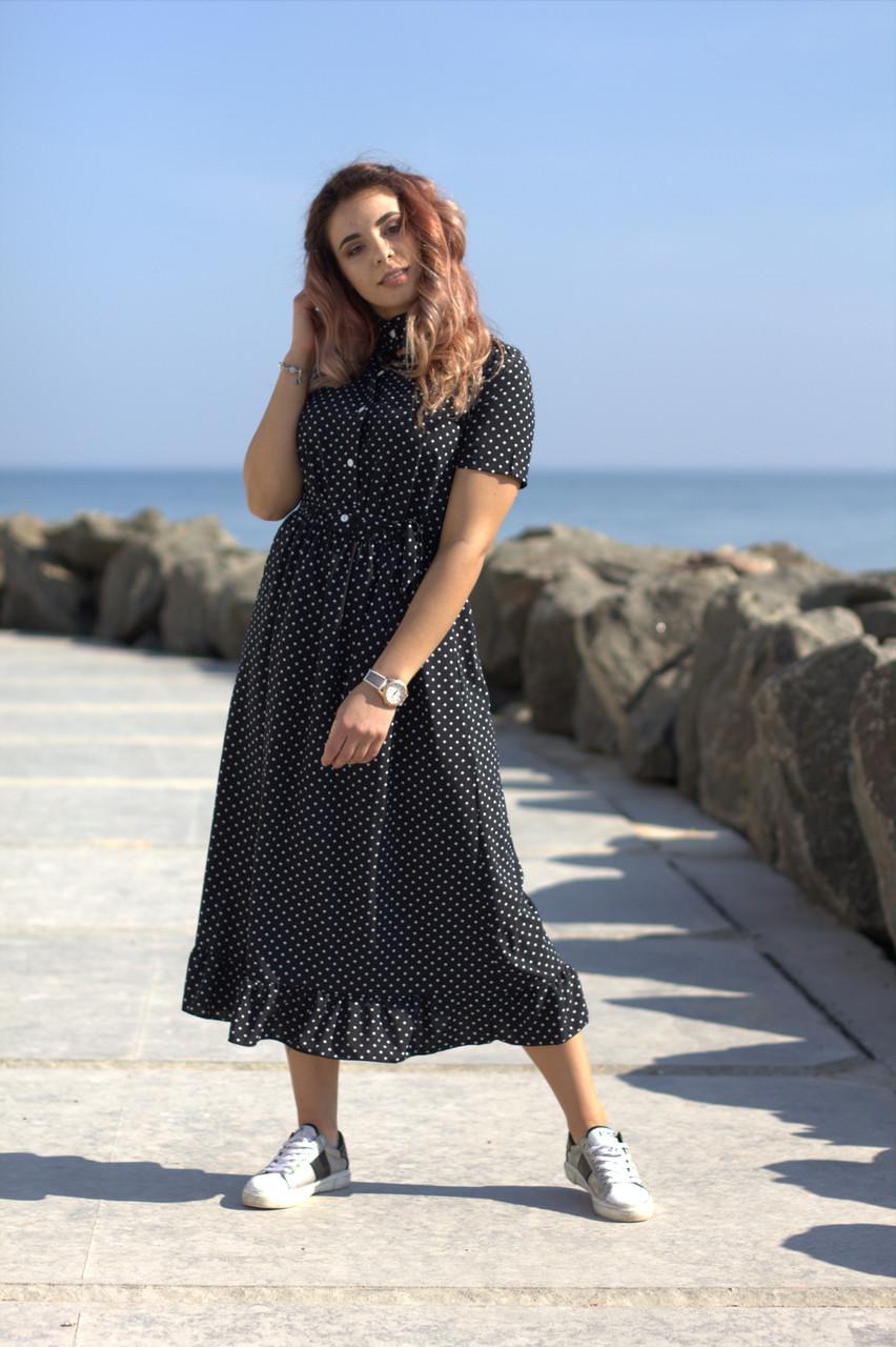 Платье в Горошек 4012