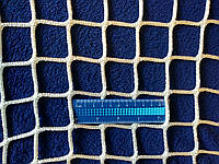 Сітка безвузлова 40х40 поліамід 4.0мм Сетка безузловая заградительная защитная 40