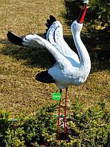 Садовая фигура Семья садовых аистов №29, фото 3