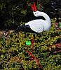 Садовая фигура Семья садовых аистов №29, фото 4