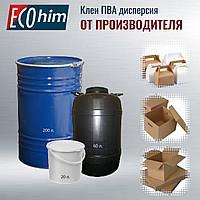Клей ПВА дисперсия марка Д 30П пластифицированная оптом