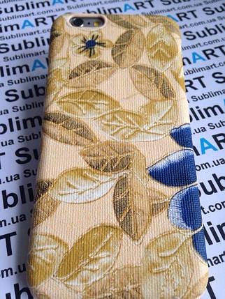 Дизайнерский чехол ручной работы для Iphone 6 (цветы), фото 2