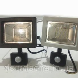 Светильник,Профессиональный Светодиодный SMD Premium Прожектор 30W с датчиком движения