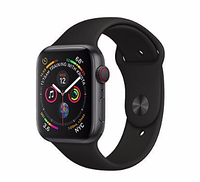 Apple Watch Series 4 40mm (GPS+LTE) Space Gray Aluminum Case with Black Sport Band