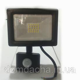 Професiйний Свiтлодiодний SMD Premium Прожектор 30W с датчиком руху