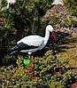 Садовая фигура Семья садовых аистов №31, фото 4