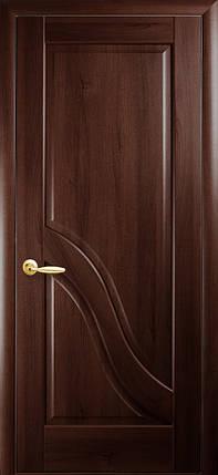 Двери Новый Стиль Амата глухое каштан, коллекция Маэстра Р, фото 2
