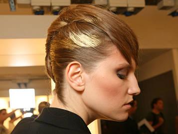 Цветной спрей для волос METALL золотой