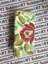 Дизайнерский чехол ручной работы для Iphone 6 (цветы), фото 3