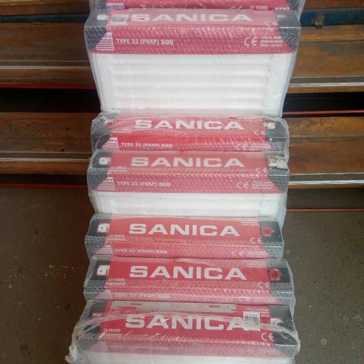 Радиатор стальной SANICA 22 500x500 (пр-во Турция, 22 класс, высота 500 мм)