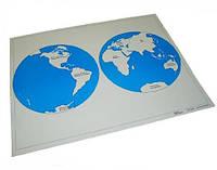 Карта океанов (пазлы)