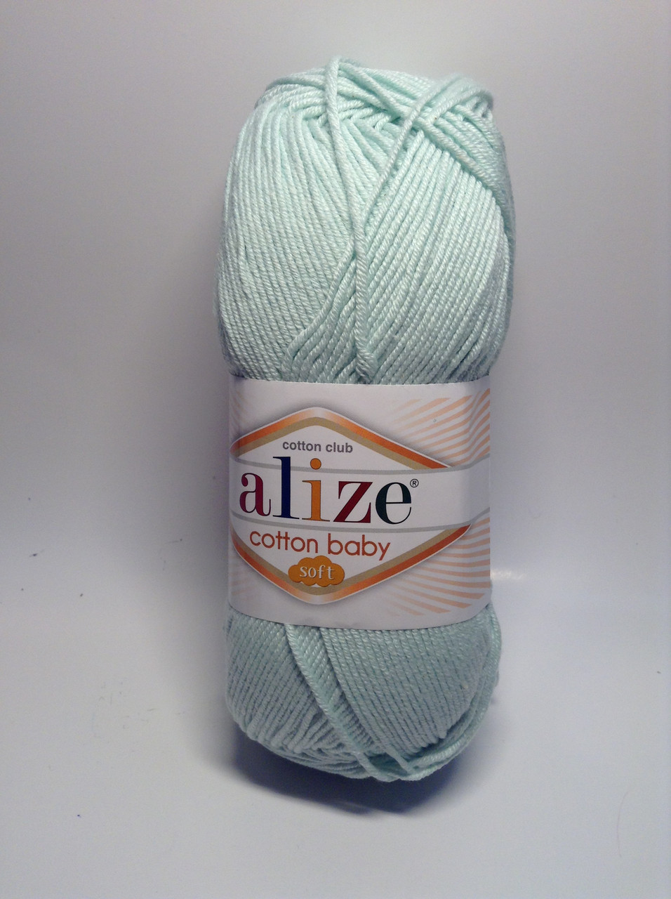 Пряжа cotton baby soft Alize (50% - хлопок)