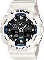 Мужские часы Casio G-Shock GA-100B-7A Касио противоударные японские кварцевые, фото 1