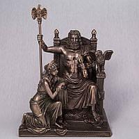 Статуэтка Veronese Зевс и Гера 28 см 76068A4