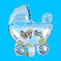 Воздушный шар коляска «baby boy»