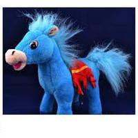 Мягкая игрушка озвученная Лошадка №1386,подарки для детей,пушистая,качественная, лучший подарок для малышей