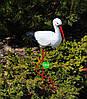 Садовая фигура Семья садовых аистов №32, фото 4