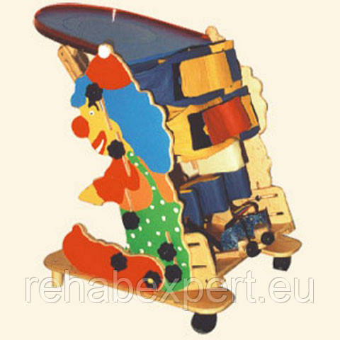Б/У Вертикализатор Статический Клоун для детей 3-4 лет Noel Clown Stander