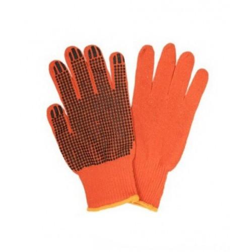 Строительная оранжевая перчатка 12 пар
