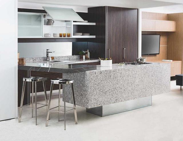 Кухонная столешница и остров из искусственного камня Caesarstone 6270 Atlantic Salt