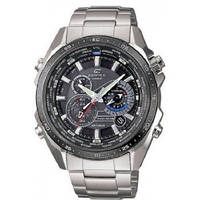 Мужские часы Casio Edifice EQS-500DB-1A1 Solar  Касио японские кварцевые, фото 1