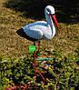 Садовая фигура Семья садовых аистов №33, фото 4