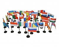 Флаги Европы (45 шт)
