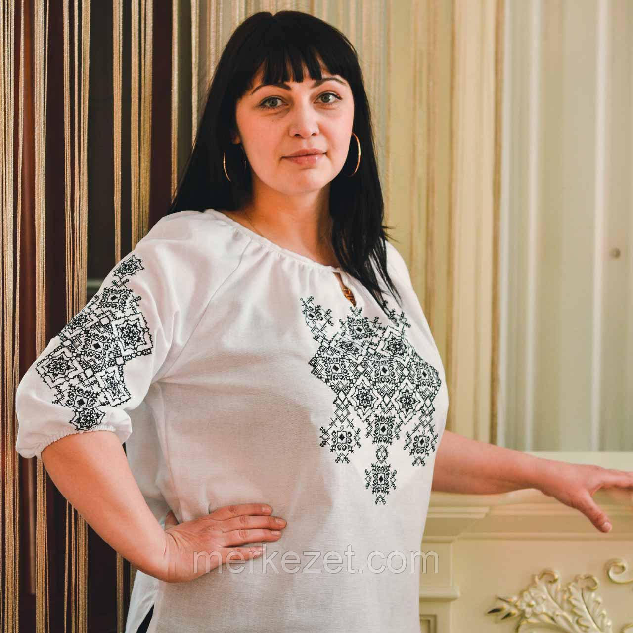 """Вышиванка """"Руслана"""". Женские вышиванки. Жіноча вишита блуза. Вышиванка на льне"""