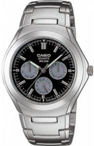Мужские часы Casio MTP-1247D-1A Касио японские кварцевые
