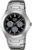 Мужские часы Casio MTP-1247D-1A Касио японские кварцевые, фото 1