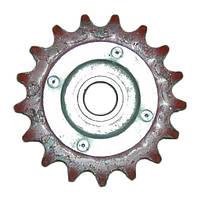 Звезда натяжная Z=17, t=19/05 в сборе с подшипником и осью, 54-2-48-1