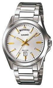 Чоловічий годинник Casio MTP-1370D-7A2 Касіо японські кварцові