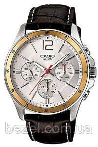 Чоловічий годинник Casio MTP-1374L-7A Касіо японські кварцові