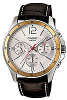 Чоловічий годинник Casio MTP-1374L-7A Касіо японські кварцові, фото 1