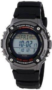 Мужские часы Casio W-S200H-1A Tough Solar  Касио японские кварцевые