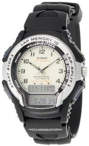 Мужские часы Casio WS-300-7B Касио японские кварцевые