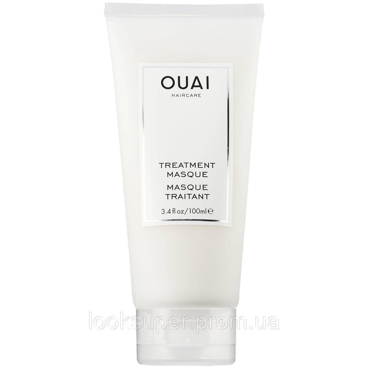 Восстанавливающая лечебная маска OUAI Treatment Masque 100ml