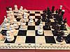 Шахматы деревянные подарочные 48 см Украина с резными фигурами