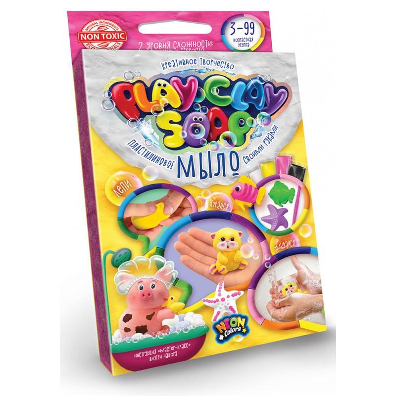 """Набор для творчества """"Пластилиновое мыло""""PLAY CLAY SOAP"""" маленький"""