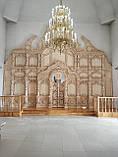 Иконостас из дерева, резьба Барокко, 8m/7m, фото 2