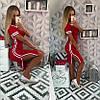 Платье в спортивном стиле / вискоза / Украина 28-241