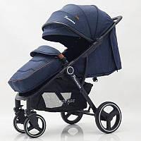 """Детская коляска """"PANAMERA"""" C689 Blue (Black) Синяя"""