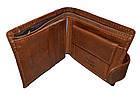 Мужские кошельки из натуральной кожи Lons Vitte (10*11.5), фото 2