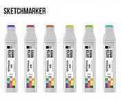 Чернила-заправка для маркеров SKETCHMARKER 20мл Red