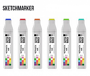 Чернила-заправка для маркеров SKETCHMARKER 20мл Blask, Blender, Gray