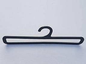 Плечики вешалки тремпеля V-AS25 для аксессуаров черного цвета, фото 2
