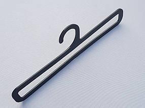 Плечики вешалки тремпеля V-AS25 для аксессуаров черного цвета, фото 3
